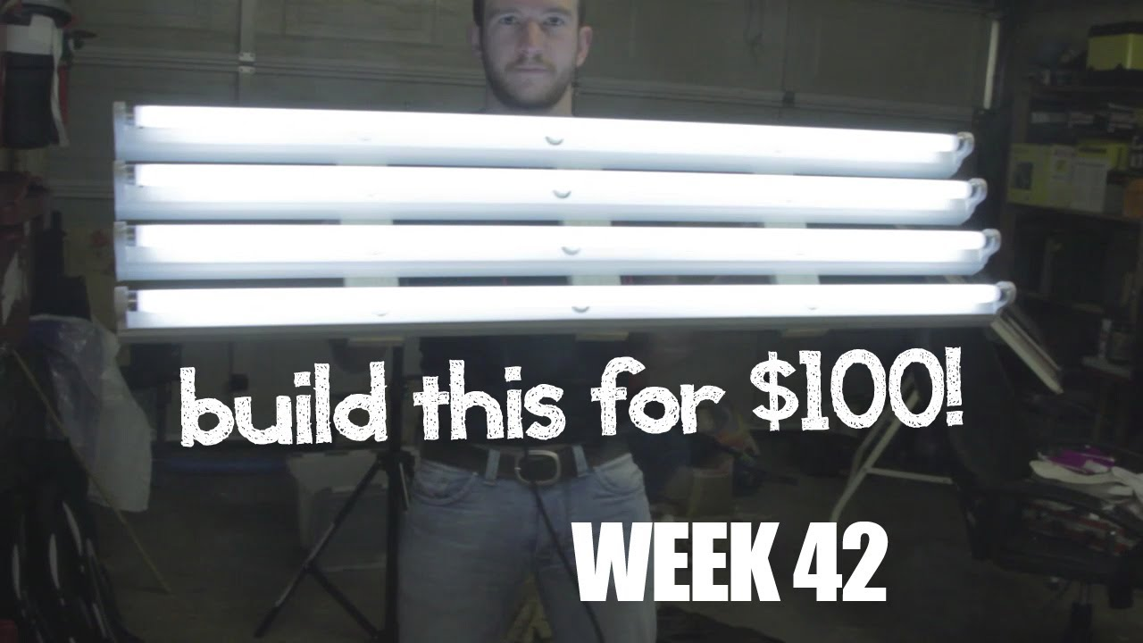UWR Week 42 - Build a Kino Flo style light for $100 in 3 hours - YouTube  sc 1 st  YouTube & UWR Week 42 - Build a Kino Flo style light for $100 in 3 hours ... azcodes.com
