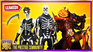 🎃 ALL NEW *LEAKED* HALLOWEEN SKINS, ITEMS & More..... (Fortnite Season 6 LEAKS October 2018)