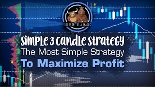Simple 3 Candle Strategy: The Most Simple Forex Trading Strategy | The Diary of a Trader