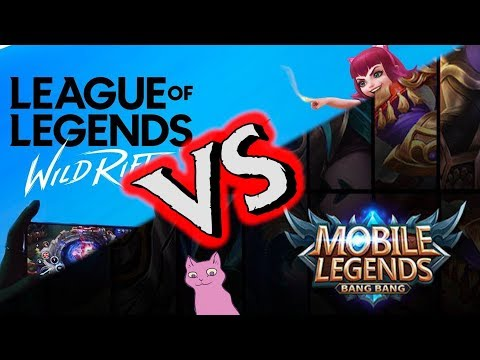 League Of Legends: Wild Rift ПРОТИВ  MOBILE LEGENDS / КТО КРУЧЕ? МНЕНИЕ ЗВЕРЬКО