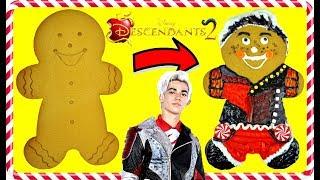 Disney DESCENDANTS 2 CARLOS Inspired Gingerbread Cookie Decoration