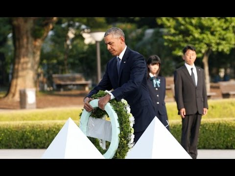 President Barack Obama Historic Visit to Hiroshima, Japan. (5-27-16) Full Speech Obama in Hiroshima