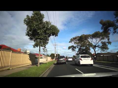 Driving around Melbourne suburbs