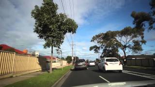 Driving in Melbourne Suburban