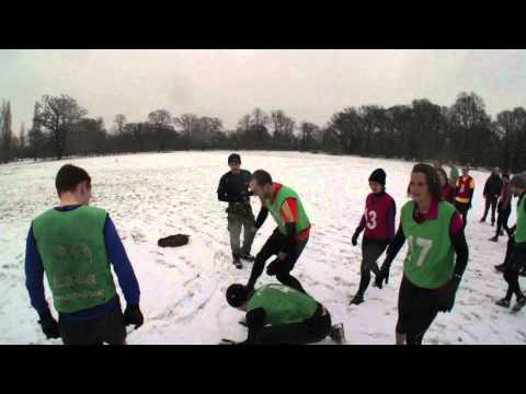 BMF in the snow, tooting bec common.