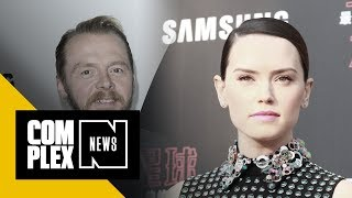 Simon Pegg Confirmed a Popular Star Wars Fan Theory About Rey