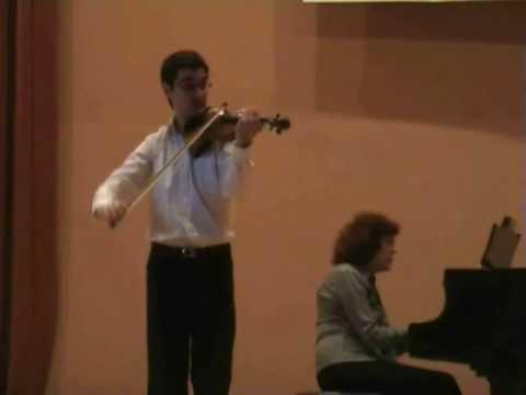 Mendelssohn: Violin Concerto (1° mov. pt.1/2) - Pedro Barreto