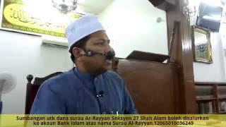 [30.04.15] Sebab Hati Jadi Lapang-Ustaz Dr.Zahazan Mohammad