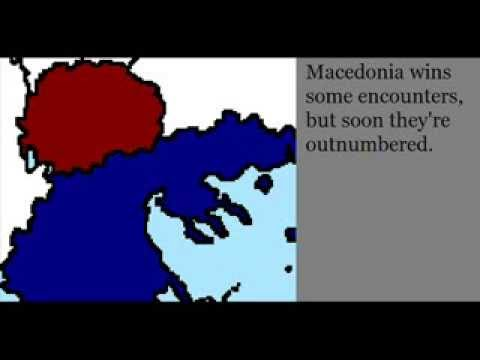 War simulation: Macedonia (FYROM) vs Greece