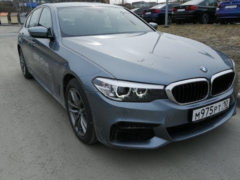 BMW 5 серии в М пакете.2019 Обзор и тест драйв.