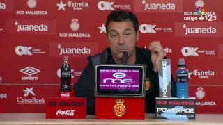 Rueda de prensa de Javier Olaizola tras el RCD Mallorca vs CD Tenerife (1-4)