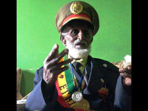 92 years old Ethiopian war veteran about Italian war prisoners and the war