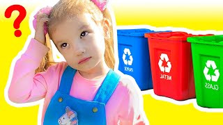 Clean Up Trash Song Nursery Rhymes & Children's Songs with Tim and Essy