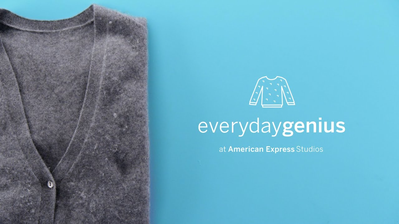 How to remove sweater fuzz with a razor everyday genius with kari byron youtube - How to remove lint ...