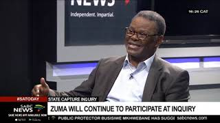 Zuma's State Capture appearance, PP's report on Ramaphosa: Prof. Sipho Seepe