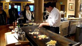Crazy Teppanyaki Chef at Wing Wah Coventry