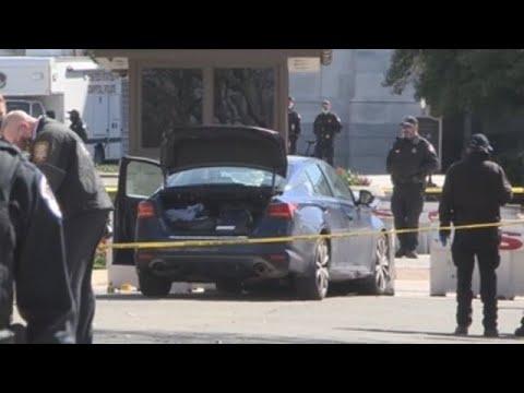 Muere uno de los dos policías atropellados en el Capitolio