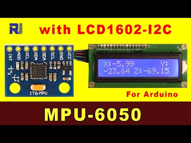 how to use mpu6050 with arduino