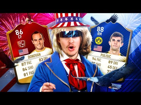 OMG LEGEND LALAS AT STRIKER! THE BEST EVER AMERICAN TEAM IN FIFA! FIFA 17 ULTIMATE TEAM