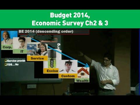 Economic Survey Ch2 & 3 with Budget 2014, Taxation Part