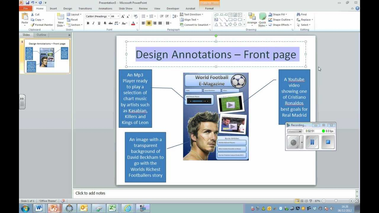 How To Annotate Your Designs