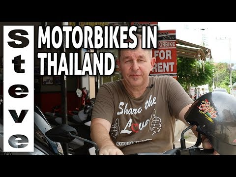 HOW TO RENT A MOTORBIKE IN THAILAND PATTAYA - All You Need To Know 🇹🇭