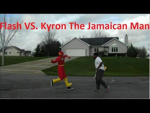 Flash Vs. Kyron The Jamaican Man