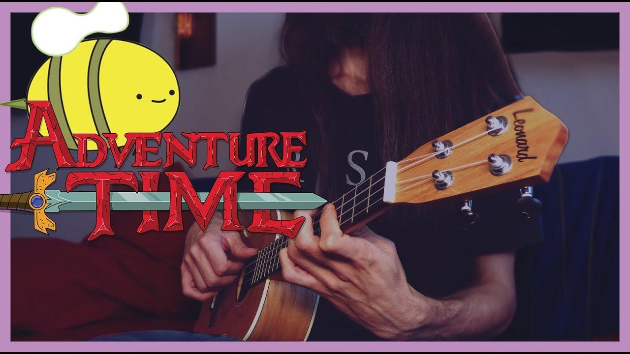 Adventure Time Ending Theme Song Ukulele Cover Youtube