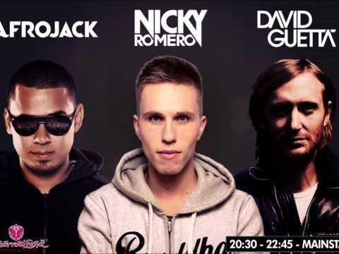 Nicky Romero vs David Guetta vs Afrojack - New Song 2014
