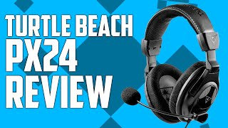 turtle beach px24 headset review gaming headset