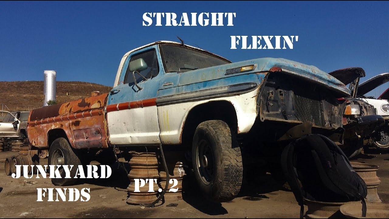Junkyard Finds pt 2 with Thecraig909 - YouTube