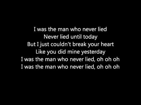 Maroon 5- The Man Who Never Lied (lyrics)