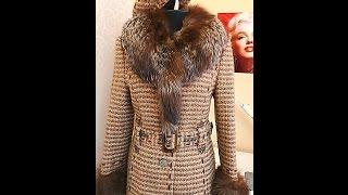 Как сделать декоративные строчки на пальто
