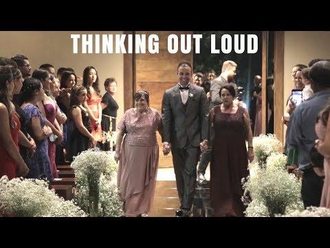 Thinking Out Loud Ed Sheeran  Instrumental Wedding  by Sognatori Per Caso