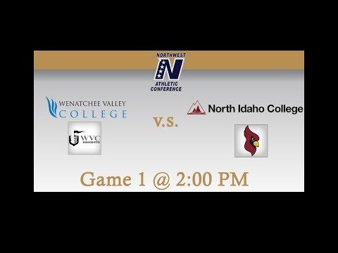 Wenatchee Valley College vs North Idaho College: Game 1