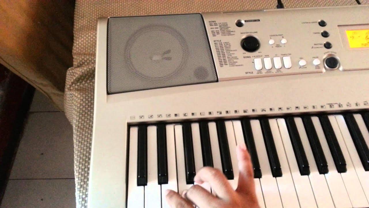 teclado yamaha psr e313 youtube rh youtube com