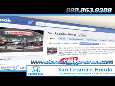 San Leandro Honda Dealership San Leandro CA