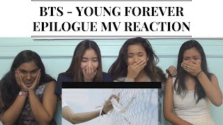 bts epilogue young forever mv reaction we died