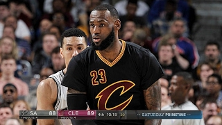 San Antonio Spurs vs Cleveland Cavaliers - Full Game Highlights | Jan 21, 2017 | 2016-17 NBA Season