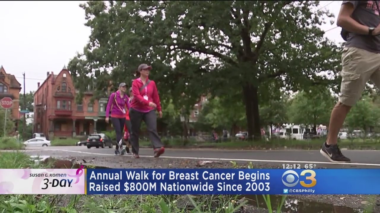 Susan komen breast cancer walks
