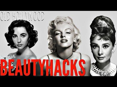 9 Old Hollywood Stars BEAUTY HACKS   Marilyn Monroe, Audrey Hepburn + MORE!