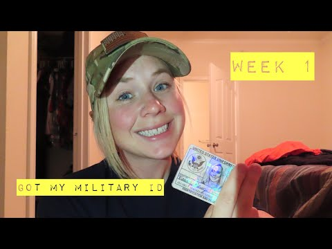GOT MY MILITARY ID | Army Wife Diaries