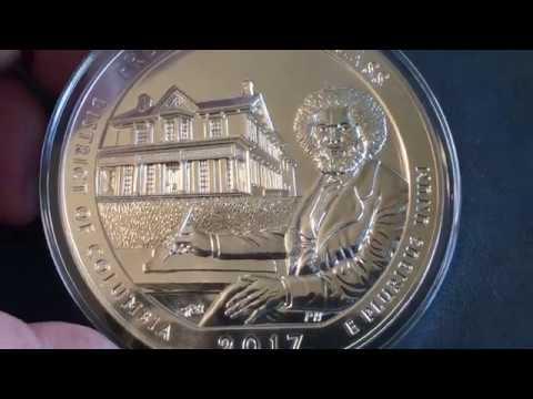 Stacking Silver: 2017 Frederick Douglass 5 Oz ATB (UTube 1st Look)