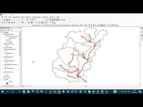 Runninng HEC-HMS Model and data preparation