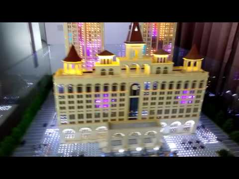 building model maker/  Qingdao huaye model ltd/architecture model design /custom model
