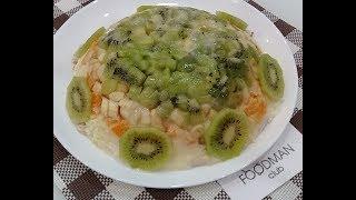 """Салат """"Экзотик"""" с курицей: рецепт от Foodman.club"""