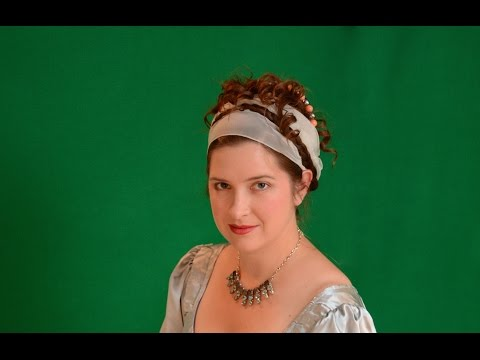 Authentic Napoleonic Hairstyle: Madame Recamier