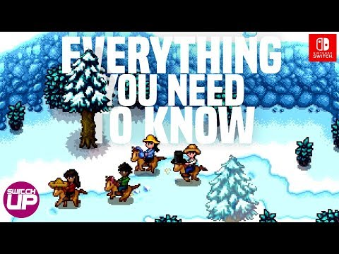 Stardew Valley Switch Multiplayer - Everything YOU NEED to