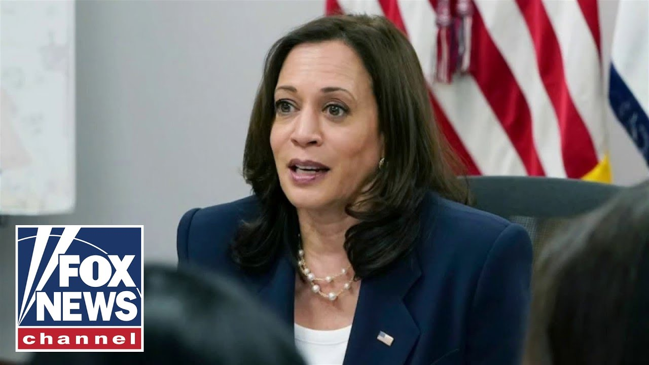 Download 'The Five' wonder why Kamala Harris has gone missing from events