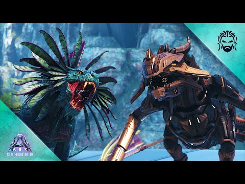 Every New Creature in Genesis Part 2 - ARK Survival Evolved DLC